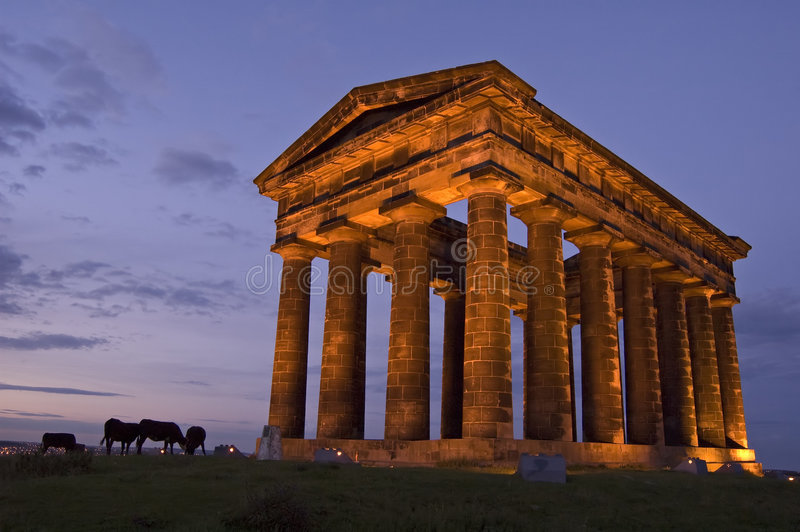 Download Penshaw Monument stock image. Image of monument, east - 3501809