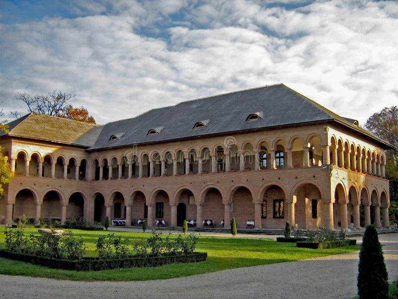 Pensión del palacio de Mogosoaia imagen de archivo libre de regalías