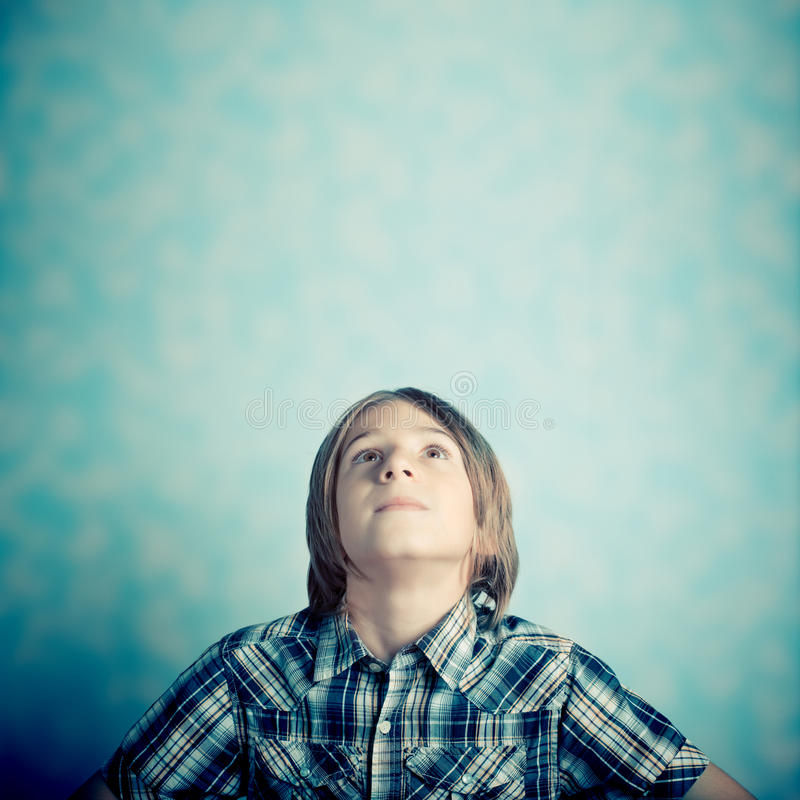 Pensiero del bambino fotografie stock libere da diritti