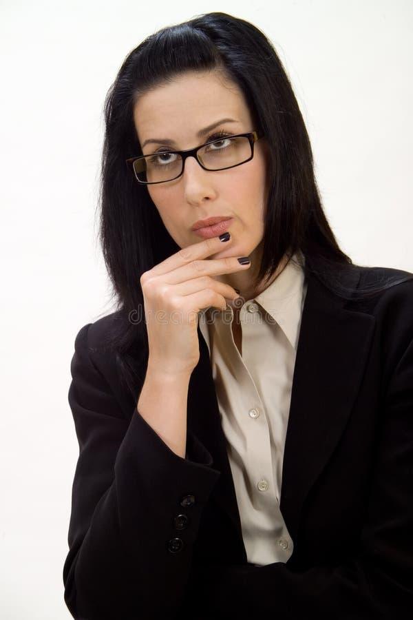 Pensiero femminile immagini stock libere da diritti