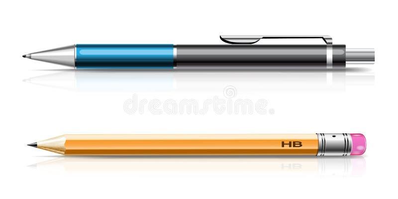 Pensil stock abbildung