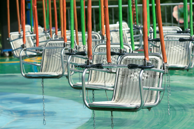 Download Pensile chairs stock photo. Image of child, metal, entertainment - 24744918
