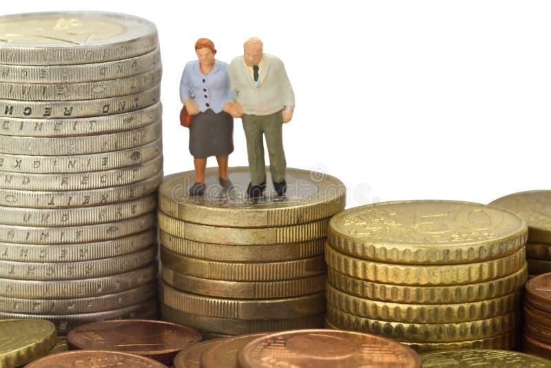 Pensioen royalty-vrije stock fotografie