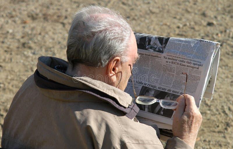 pensionär royaltyfri fotografi