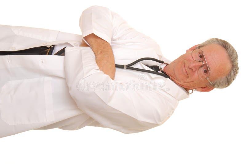 pensionär för 10 doktor arkivbild