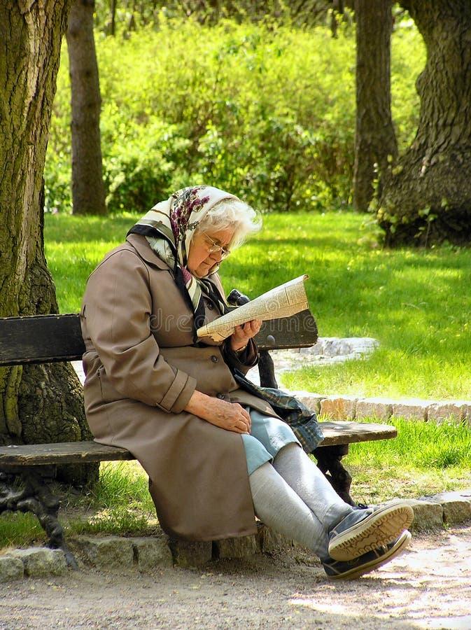 On a pension stock photos