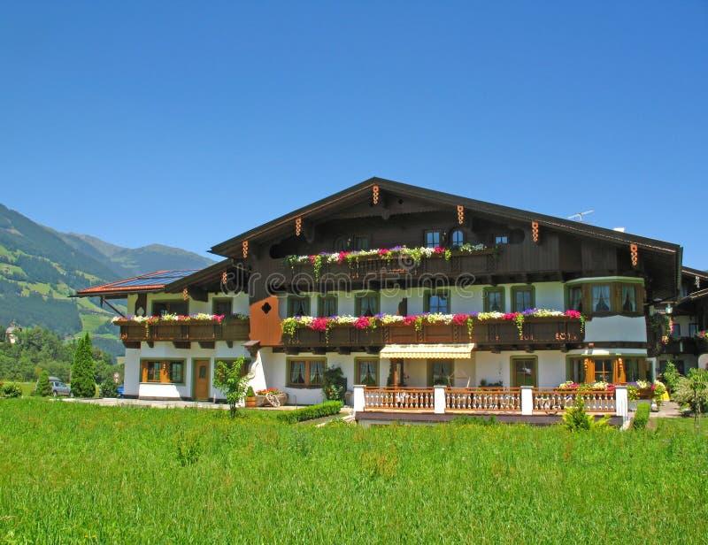 Pension en Autriche image stock