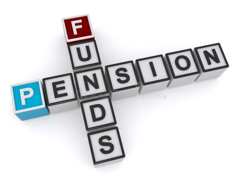 pension illustration de vecteur