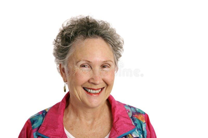 Pensionato felice immagine stock