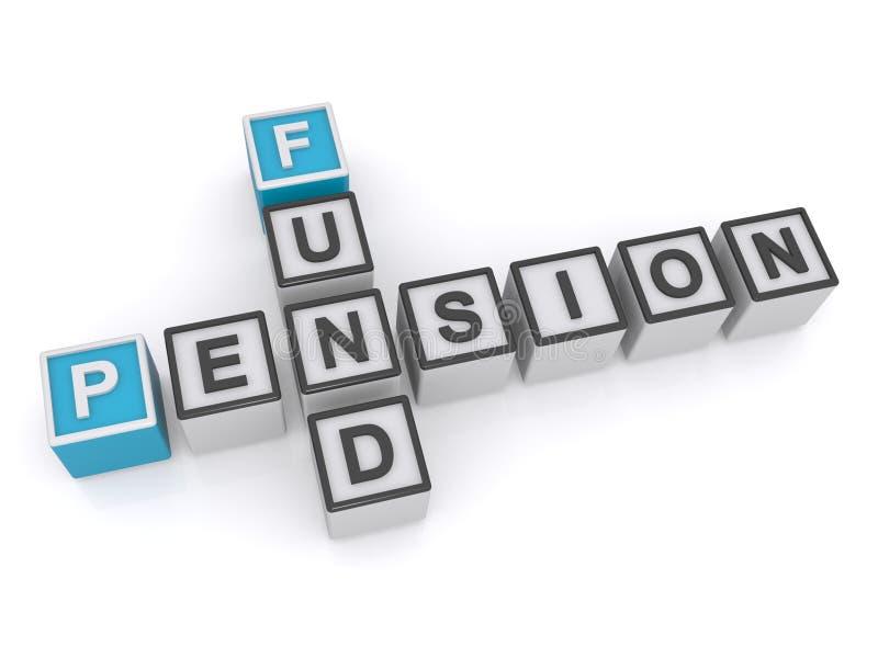 Pensione del fondo royalty illustrazione gratis