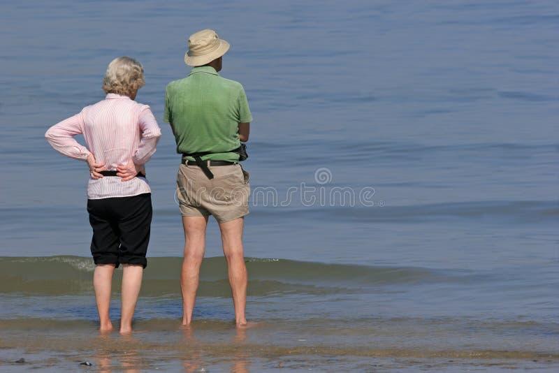 Pensione pacifica fotografia stock