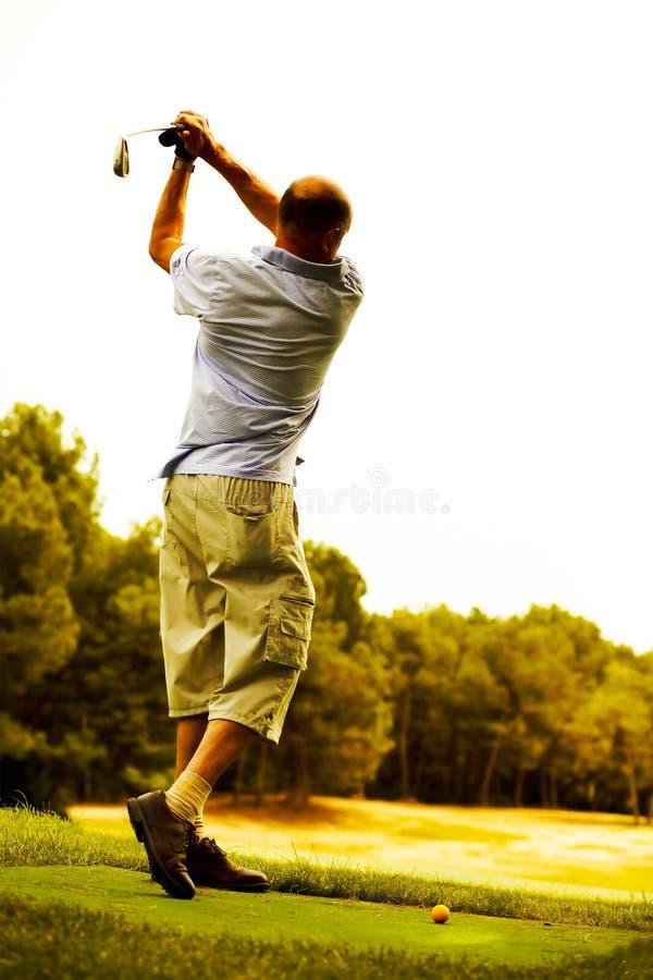 Pensioneer bem sucedido foto de stock royalty free