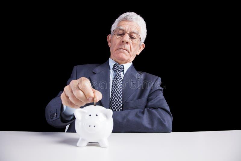 Pensioneringsbesparingen royalty-vrije stock foto's
