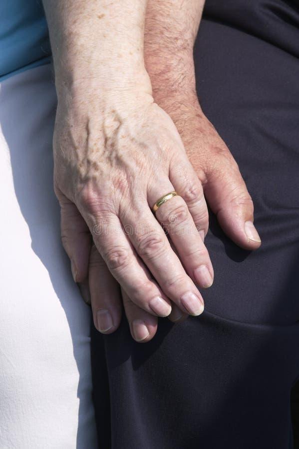 Pensionierte Paare lizenzfreies stockbild