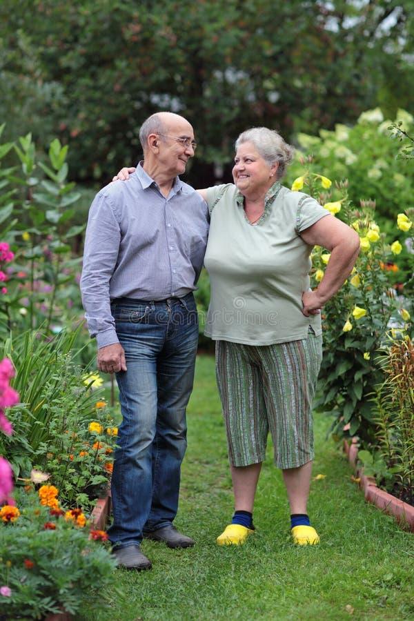 Pensionistas fotos de archivo