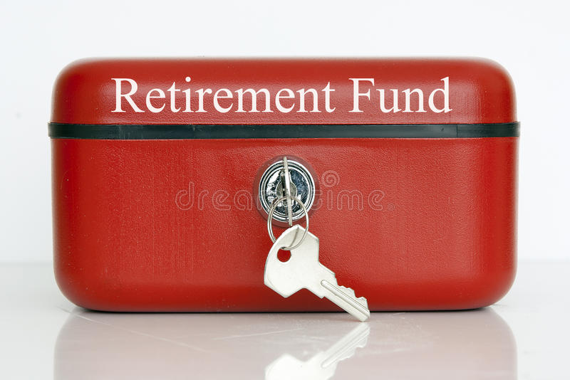 Pensionsfonds stockfotos