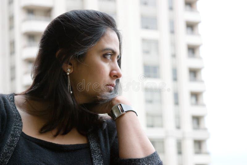 Pensive stock photos
