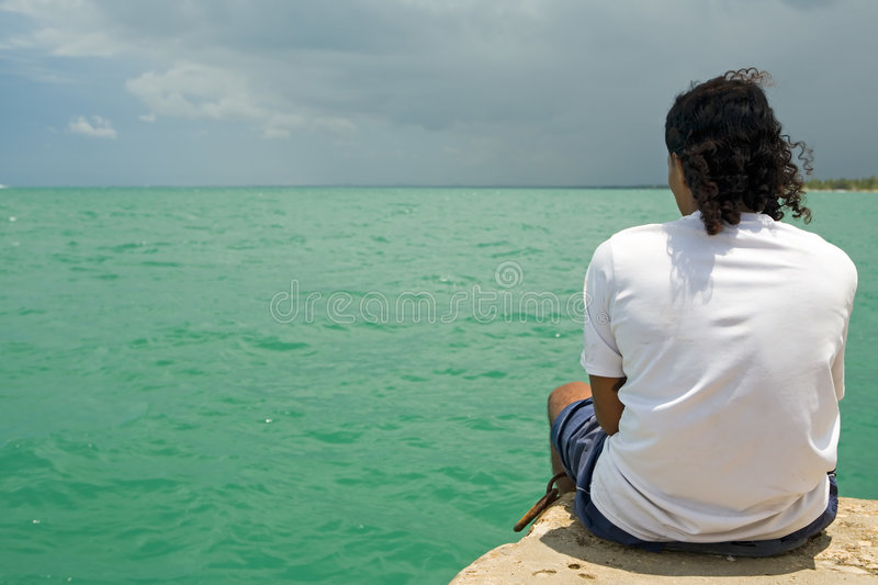 Pensive Stock Photography