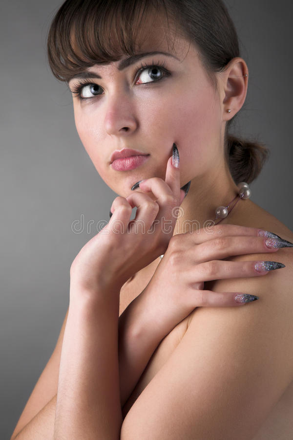 Download Pensive Girl Stock Image - Image: 16631341