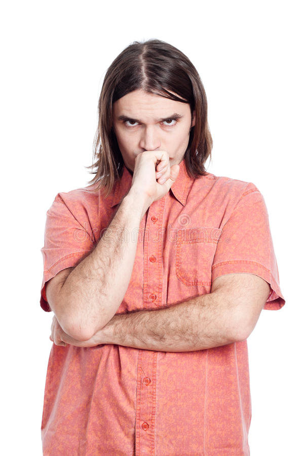 Download Pensive Man Thinking Stock Images - Image: 23961504