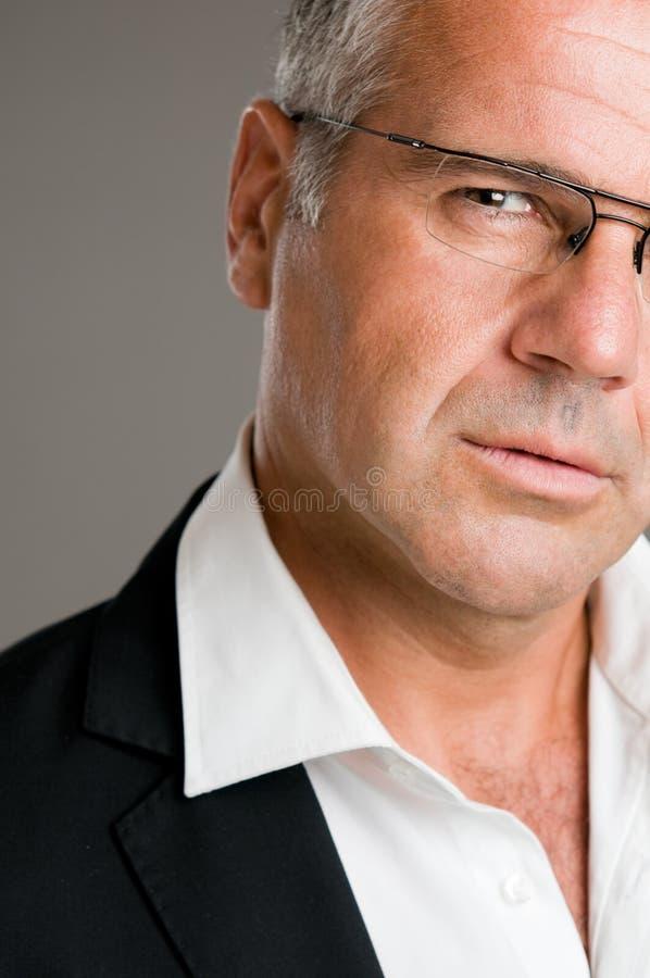 Download Pensive mature man stock image. Image of pensive, caucasian - 17099367