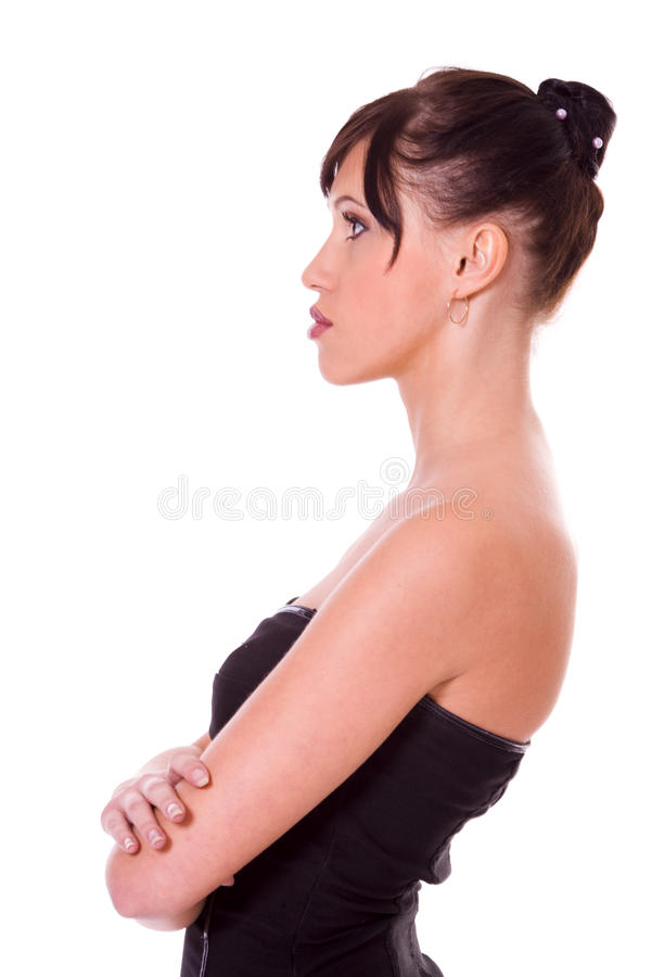 Pensive Woman stock photography