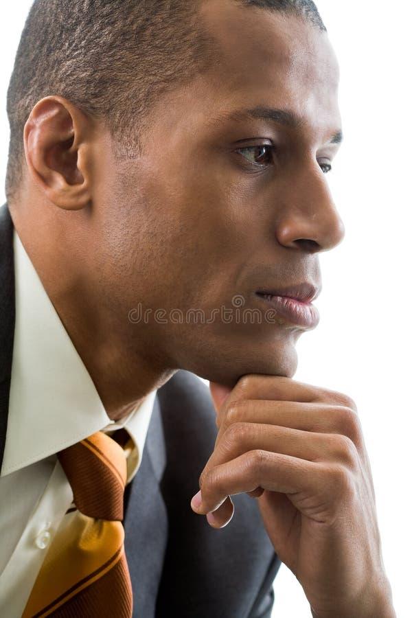Pensiveness royalty-vrije stock foto's