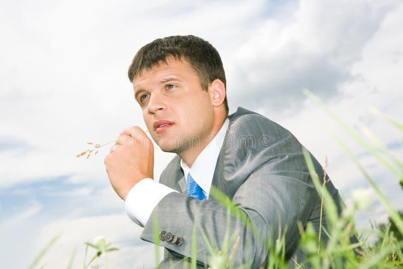 Pensiveness lizenzfreie stockfotografie