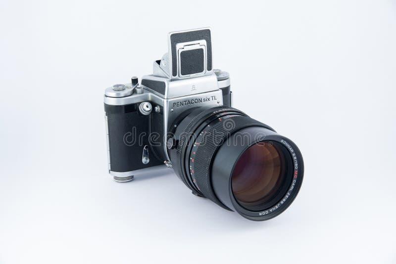 Pentacon seis cámaras imagen de archivo