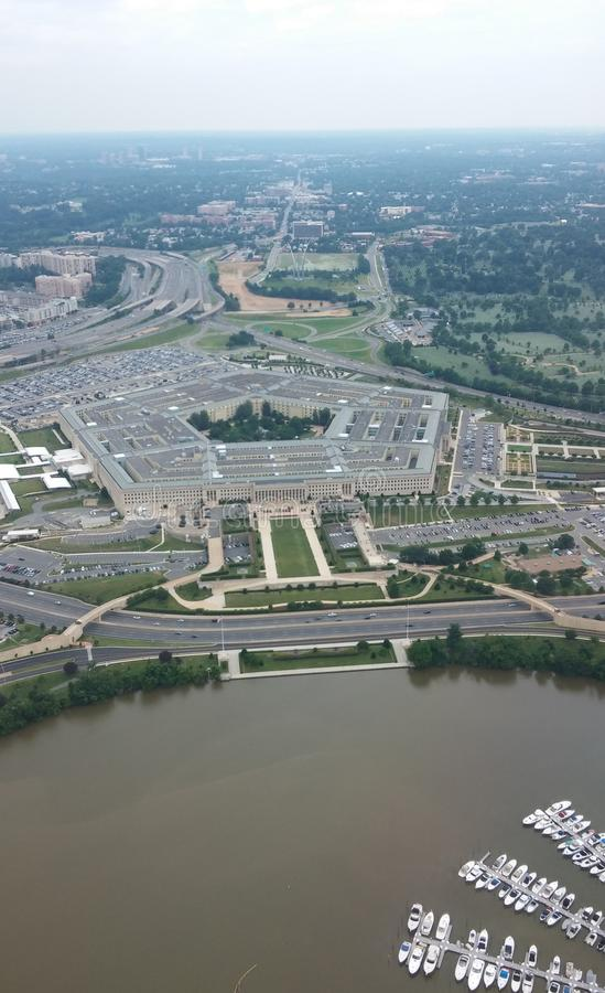 Pentagon arkivfoton