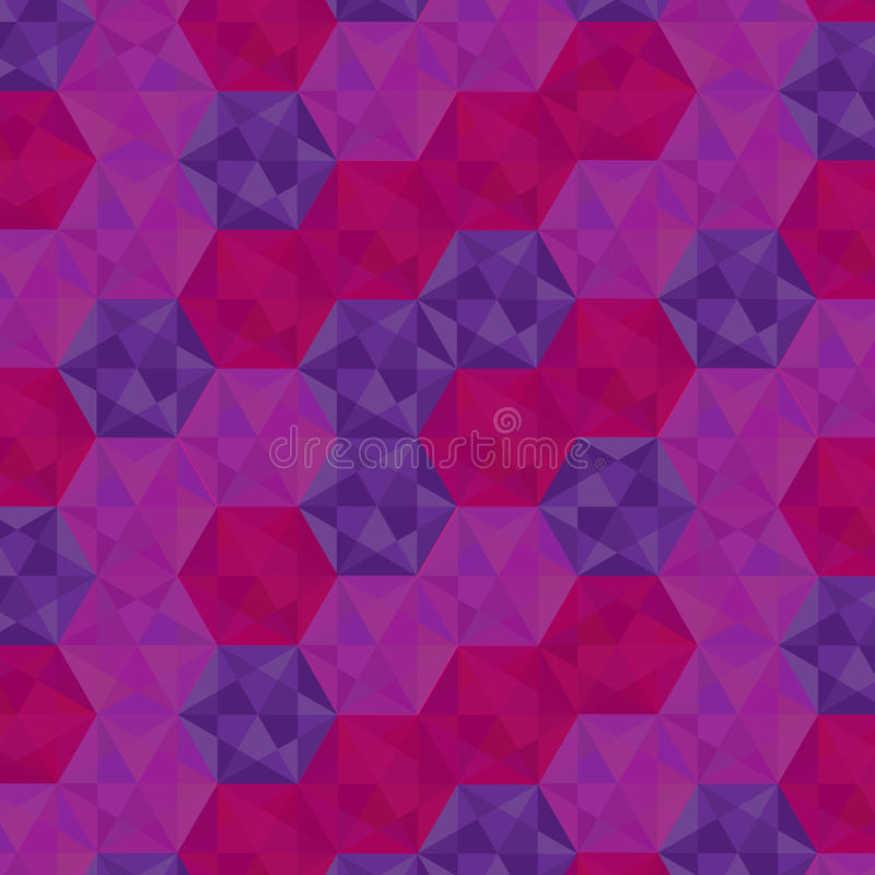 Pentagon Triangle Geometric Colorful Background. Vector vector illustration