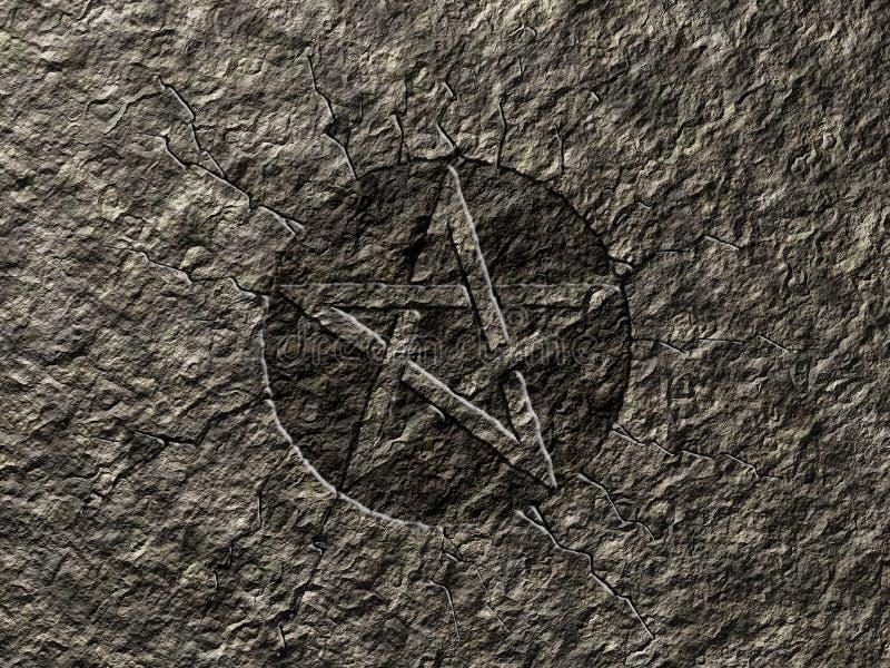 Pentagram stock abbildung