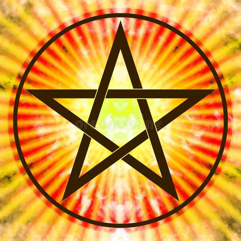 pentagram lizenzfreie abbildung