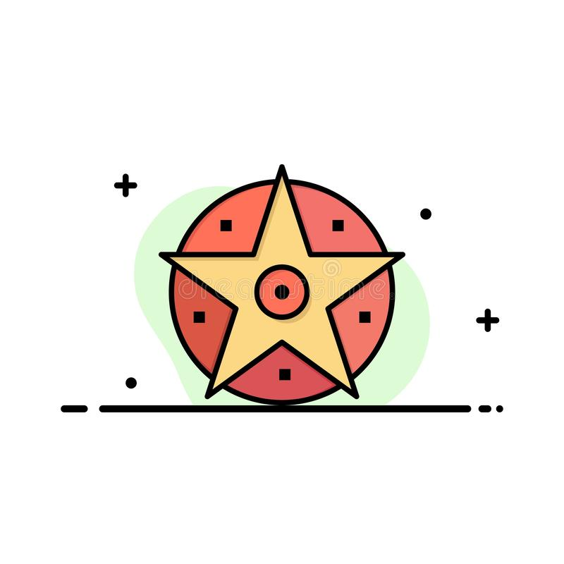 pentagramme illustration stock