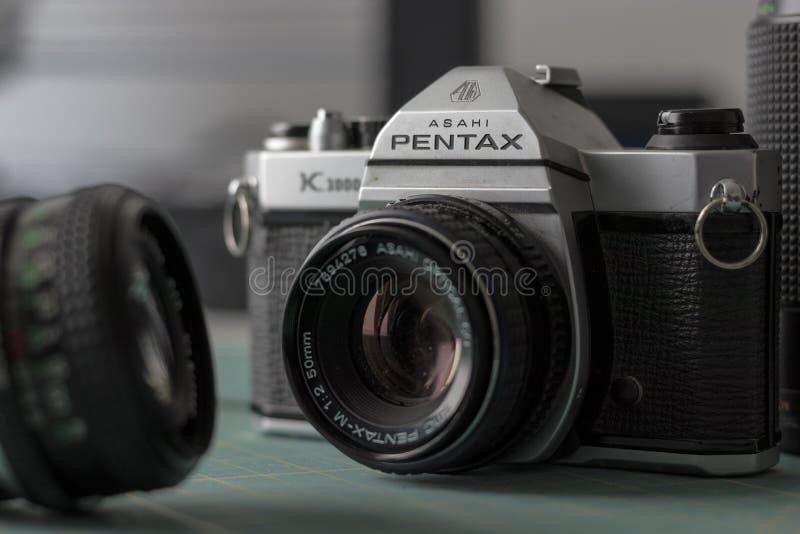 Pentax Ashi K1000 obraz royalty free