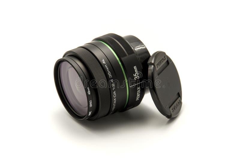 Pentax lente f2 de 35 milímetros 4 brandnew imagens de stock