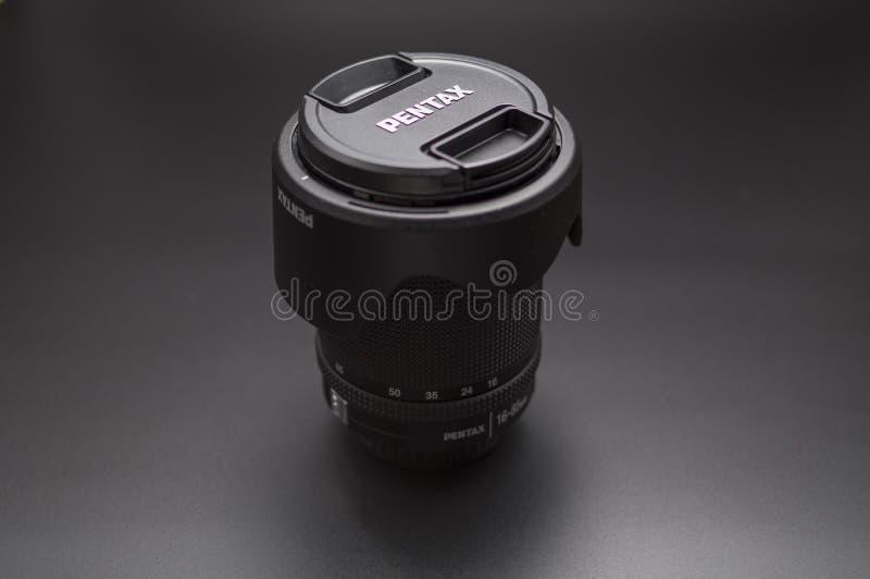 Pentax 16-85mm szeroki obiektyw WR obraz royalty free