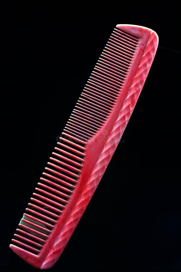 Pente cor-de-rosa foto de stock royalty free