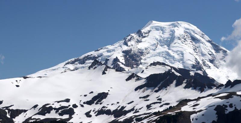 Pente de montagne photo stock