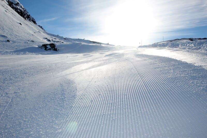 Pente de ski image libre de droits
