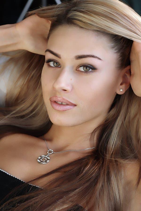 Penteado bonito fotos de stock royalty free