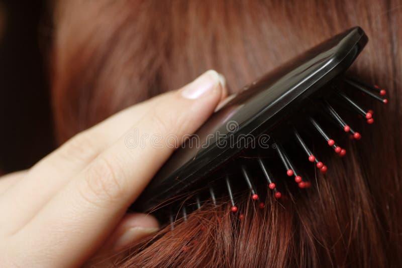 Penteado do cabelo foto de stock royalty free
