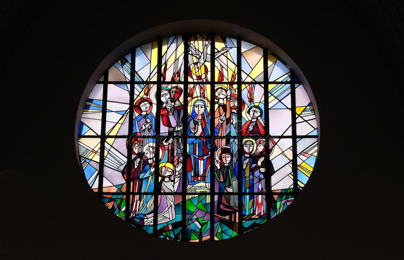 Pentecost,圣灵下降  免版税库存照片