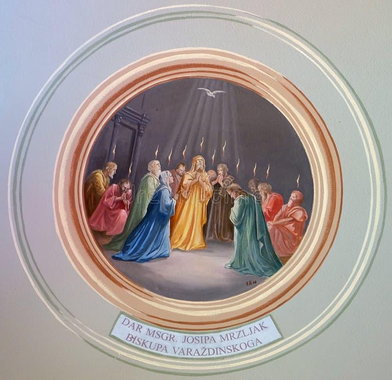 pentecost 免版税库存图片