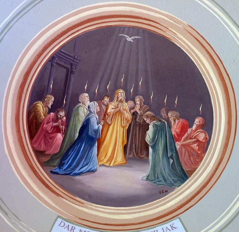 pentecost royalty-vrije stock foto