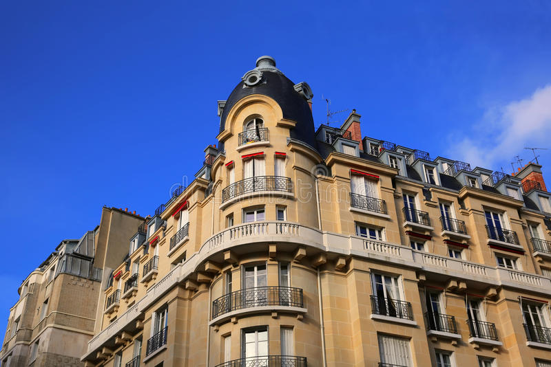 Penthouse Apartments of Paris stock images