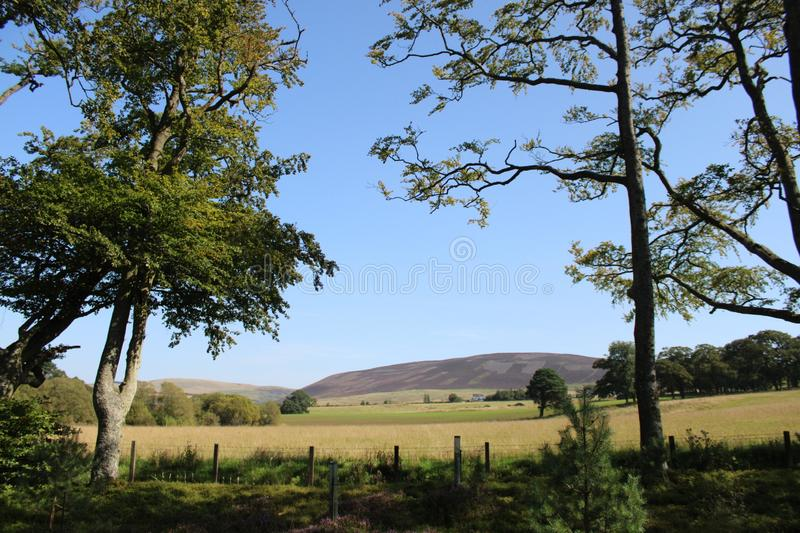 Pentland Hills Regional Park. In Scottland stock photography