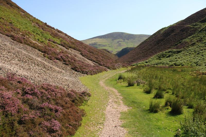 Pentland Hills Regional Park. In Scottland stock images