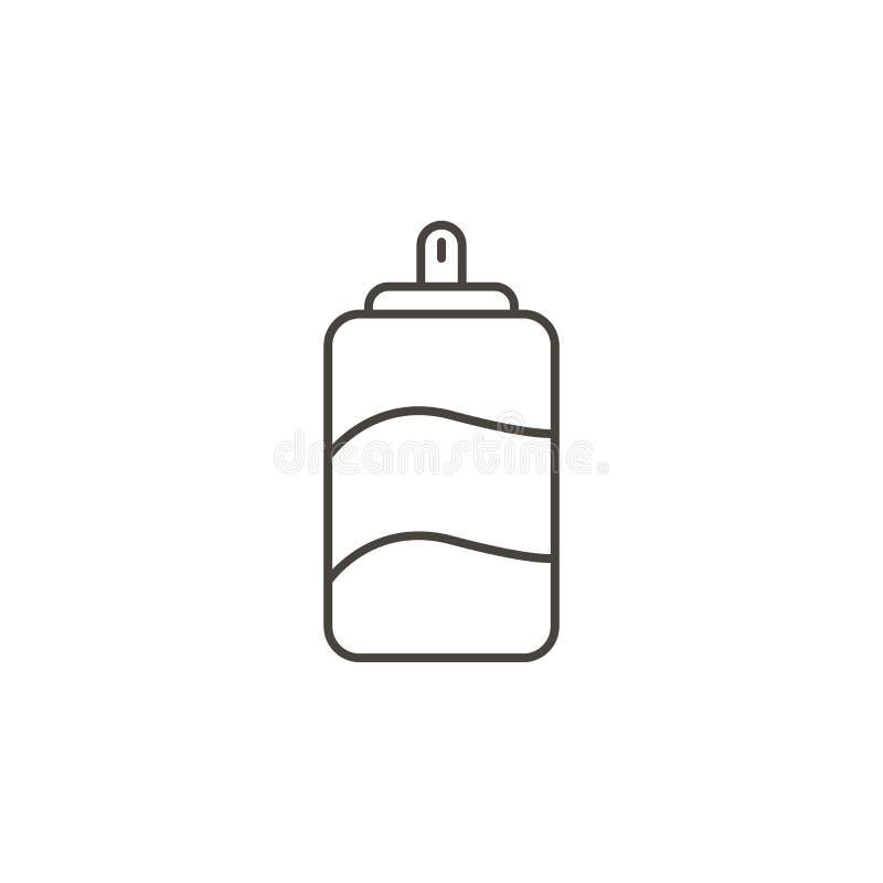 Pentola del coke, icona di vettore della bevanda Illustrazione semplice dell'elemento dal concetto dell'alimento Pentola del coke illustrazione vettoriale