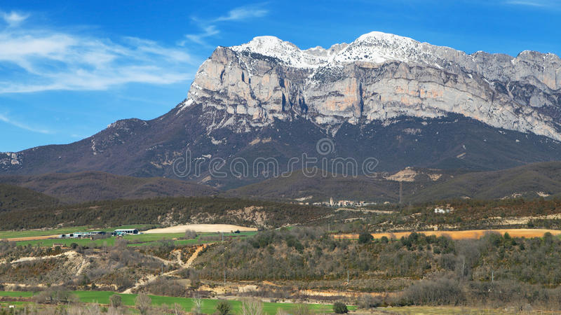 Penya Montanyesa obrazy stock
